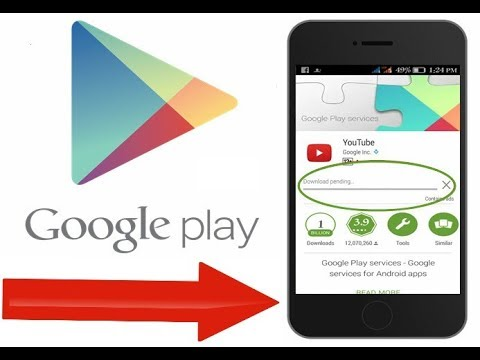 How to fix download pending Error in Google Play Store