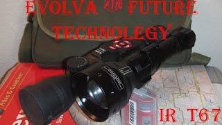 Evolva Future Technology IR T67 Infra Red Illuminator