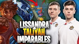 WERLYB con LISSANDRA y SELFMADE con TALIYAH!! *IMPARABLES* | Mad Lions vs DRG | Cuartos Iberian Cup