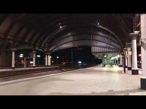 New 800305 through York on 5X40 Merchant Park to Doncaster Carr IEP Depot 20/04/18