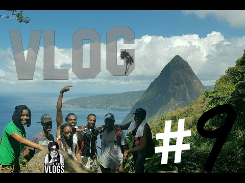 VLOG #9 Climbing Gros Piton in Soufriere St.Lucia