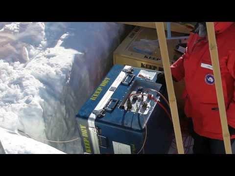 Antarctic trip 2012-2013: SouthPole Station-PG2 powerOn 130PM