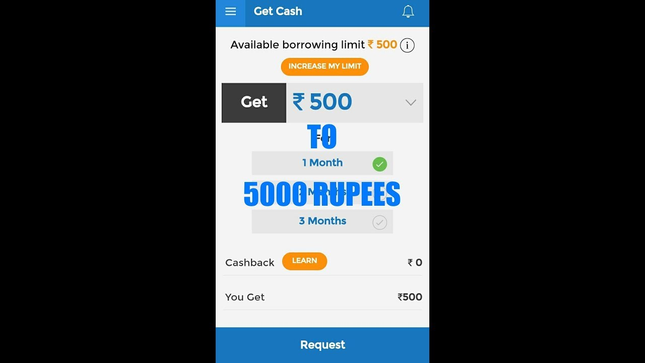 How To 1000 Rupees Get From Mpokket Youtube