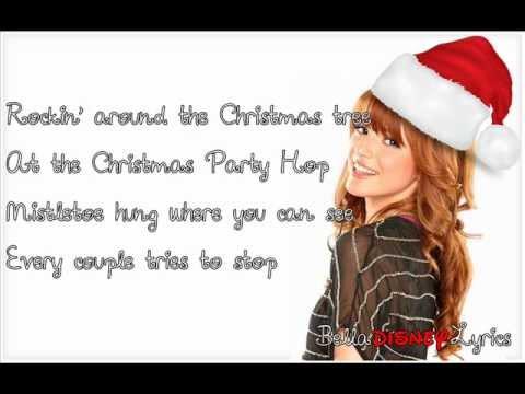 """Rockin' Around The Christmas Tree"" - Bella Thorne (Lyrics Video)"