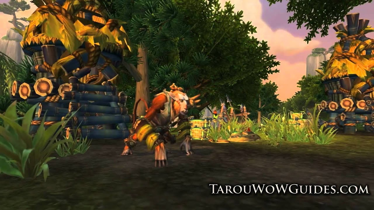 Mists of Pandaria - Jade Forest Zone Level 85-86 & Temple of the Jade  Serpent Preview 2012!