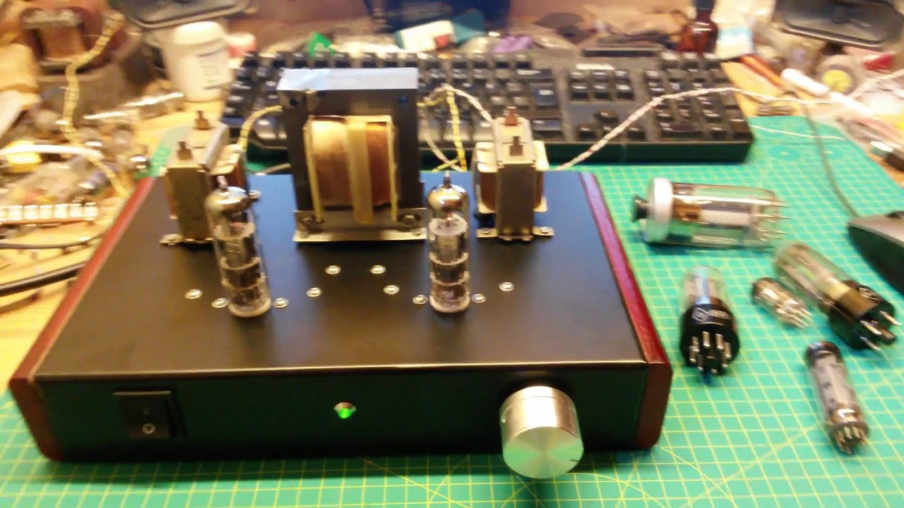 Ecl86 Triode Se Tube Amp First Test