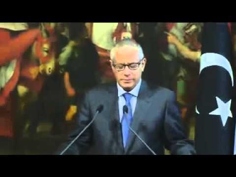 Roma - Letta con il premier libico Ali Zidan Mohammed (04.07.13)
