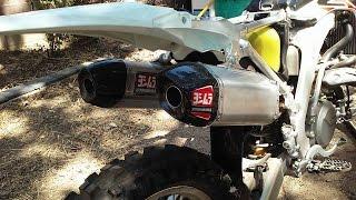 2016 CRF 450 exhaust