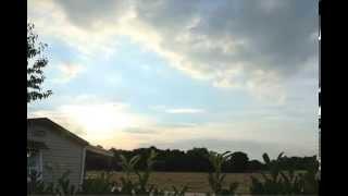 Sunset Timelapse Camping Parc de Fierbois in St Caterine de Fierbois