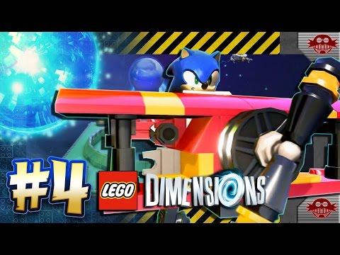 Lego Dimensions PS4 Pro - Sonic Level Pack Part 4: Metropolis ...