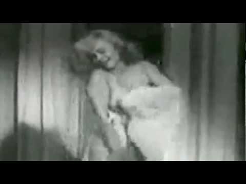 Burlesque dancer - Betty Rowland - Ball of Fire