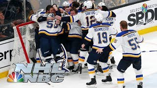 Download NHL Stanley Cup Final 2019: Blues vs. Bruins | Game 7 Extended Highlights | NBC Sports Mp3 and Videos