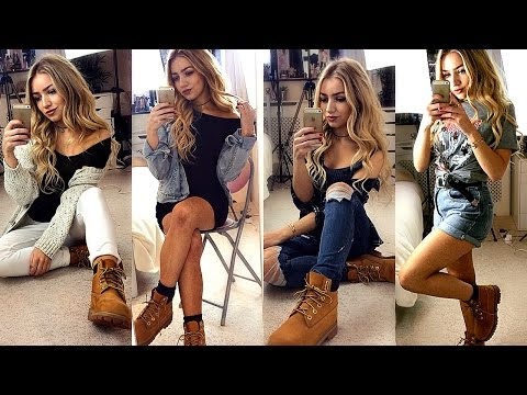 how-to-style-timberland-boots-/-outfit-ideas