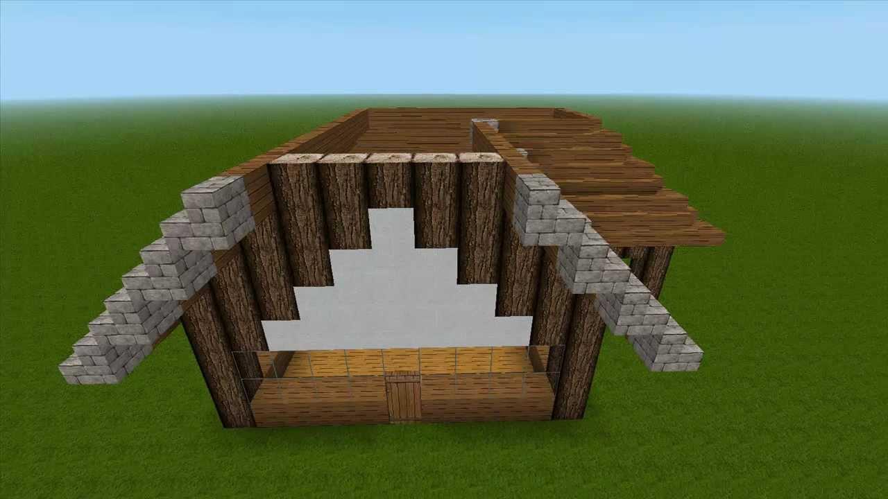 minecraft sch nes haus bauen youtube. Black Bedroom Furniture Sets. Home Design Ideas