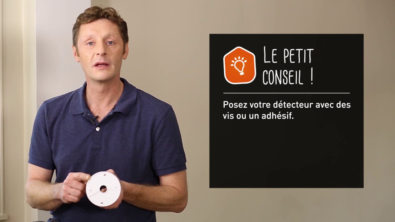 Comment Installer Un Detecteur De Fumee Youtube