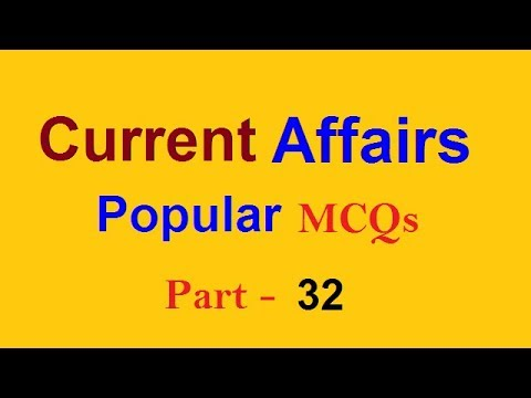 Solved Question | Educational Videos of World Affairs MCQs for all competitive exams