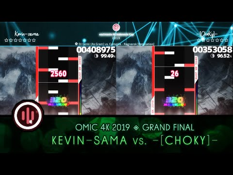 Osu!mania 4K Indonesia Cup 2019 | Grand Final | Highlights : Kevin-sama Vs -[ChoKy]-