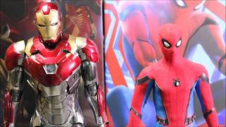 [Unboxing]Hot Toys -Spider-Man: Homecoming 1/6th Iron Man Mark 47 & Spider-Man