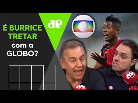 """""""PEITAR"""" a GLOBO como fez o FLAMENGO é BURRICE para os outros clubes? Debate FERVE"""