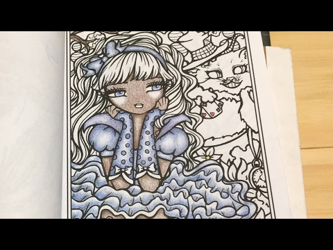 How I Color Dark Skin Tones in Adult Coloring books using polychromos colored pencils.