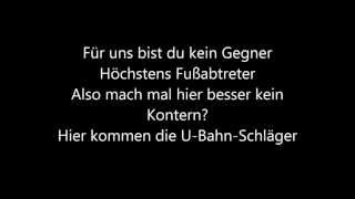K.I.Z. feat. Trailerpark feat. Massimo - U-Bahn Schläger lyrics hq1080