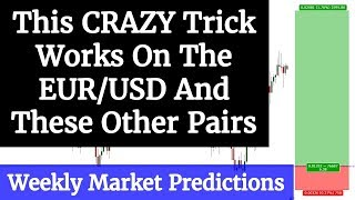 Forex: This CRAZY trick Works On The EUR/USD and these other pairs - WMP 4/9 - 4/12