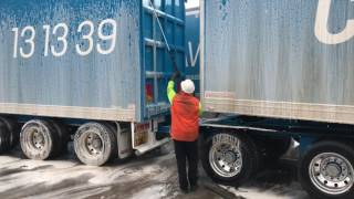 How to wash a truck EASY WASH a Road Train in less than an hour Part 2