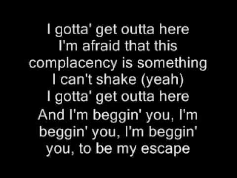 Be My Escape  Relient K  lyrics FULL VERSION!!!
