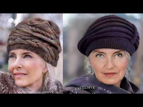 Зимняя шапка спицами для женщин с описанием