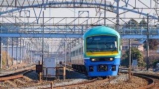 JR東日本 485系多目的電車 幕張車 ニューなのはな 「新春箱根初詣号」 1/25 @横浜羽沢~相模貨物