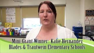 Blades & Trautwein Mehlville Oakville Foundation Mini Grant Prize Patrol Katie Hernandez Thumbnail