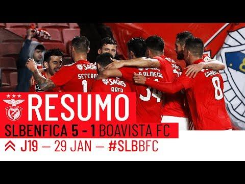 HIGHLIGHTS: SL Benfica 5-1 Boavista
