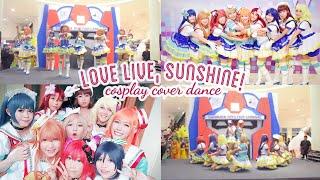 allerish dance cover love live sunshine aozora jumping heart kimi no kokoro wa kagayaiteru kai
