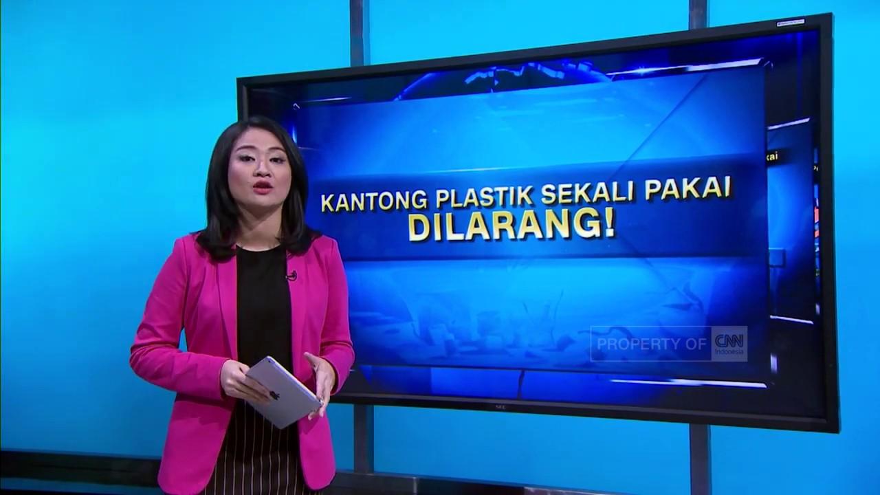 Kantong Plastik Sekali Pakai Dilarang!