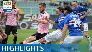 Palermo-sampdoria 1-1marcatori: pt 30' nestorovski rig., 45' quagliarellapalermo (4-2-3-1): posavec; rispoli, cionek, andjelkovic (50' st sunjic), aleesami; ...
