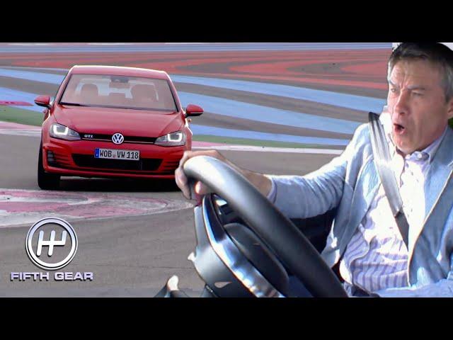 Tiff's legendary Golf GTI Test Drive   Fifth Gear