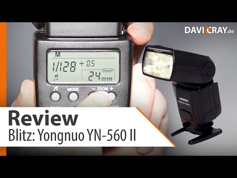 Review : Blitz Yongnuo YN-560 II | David Cray
