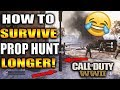 THE SECRETS TO SURVIVE IN PROP HUNT! 😈 HOW TO FIND MORE PROPS! COD WW2 FLAWLESS PROP HUNT GAMEPLAY