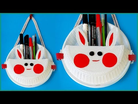 How to Create Cute Animals using Paper Plates - A beautiful DIY Decor Craft from Disposable Plates