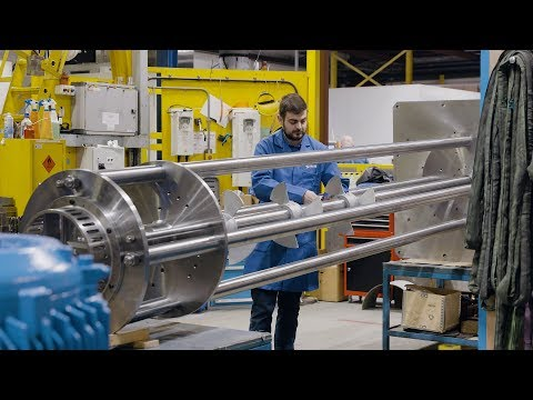 Silverson manufactures 19ft Duplex Disintegrator mixer in-house