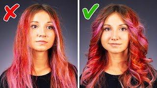 25 einfache Tricks für die Haare um deine Schönheitsroutine zu beschleunigen