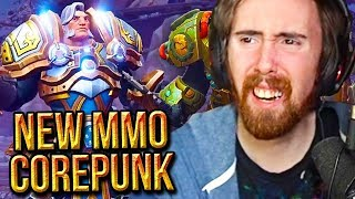Asmongold Reacts To Corepunk Official Announcement Trailer - New MMORPG Gameplay
