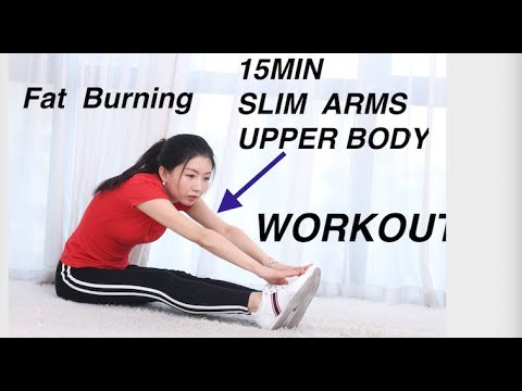 15min slim armsupper body workout at home weight loss