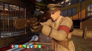 ALL ZOMBIE CHRONICLES MAPS IN ORDER GAMEPLAY - BLACK OPS 3 DLC 5 GAMEPLAY (BO3 Zombies)