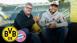 Bundesliga's Top Match | Manuel Akanji joins BVB Matchday Magazine | Borussia Dortmund - FC Bayern