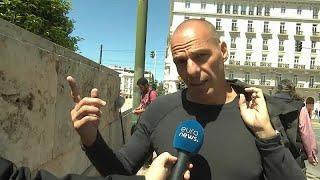 En Grèce, malgré le confinement, des militants se sont rassemblé en ce 1er mai