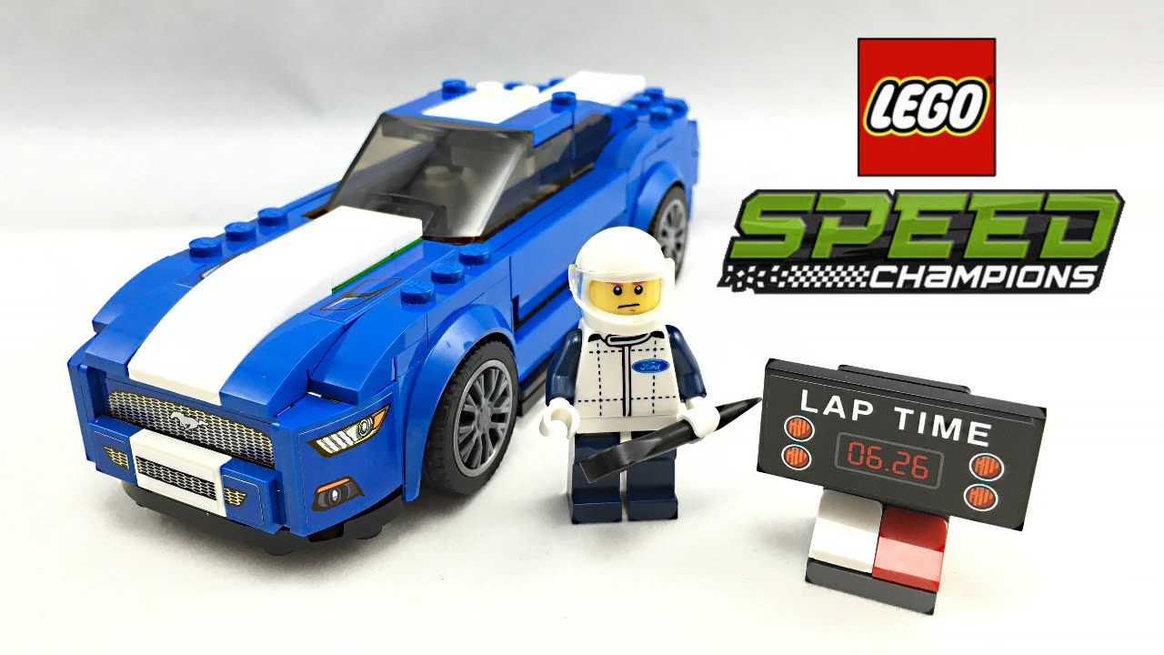 lego speed champions ford mustang gt set review 75871. Black Bedroom Furniture Sets. Home Design Ideas