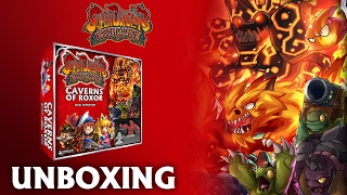 Caverns of Roxor: 2nd Edition - UNBOXING! A Super Dungeon Level