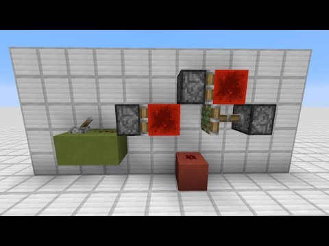 Minecraft: 0-Tick Pulse Generator