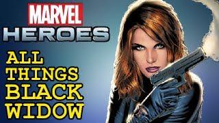 Marvel Heroes: All things Black Widow - Skills, Powers, Ultimate Power